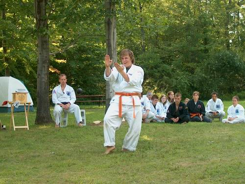 Kata in the final demonstration
